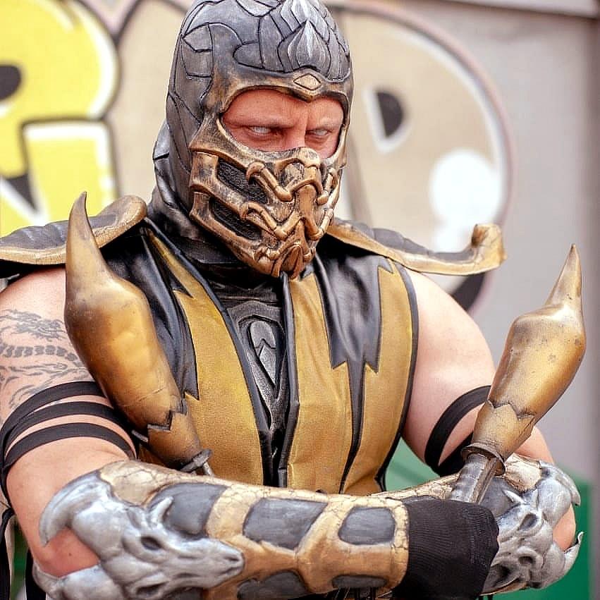 cosplay mortal kombat 2 - Mortal Kombat - Cosplayers Josi e André