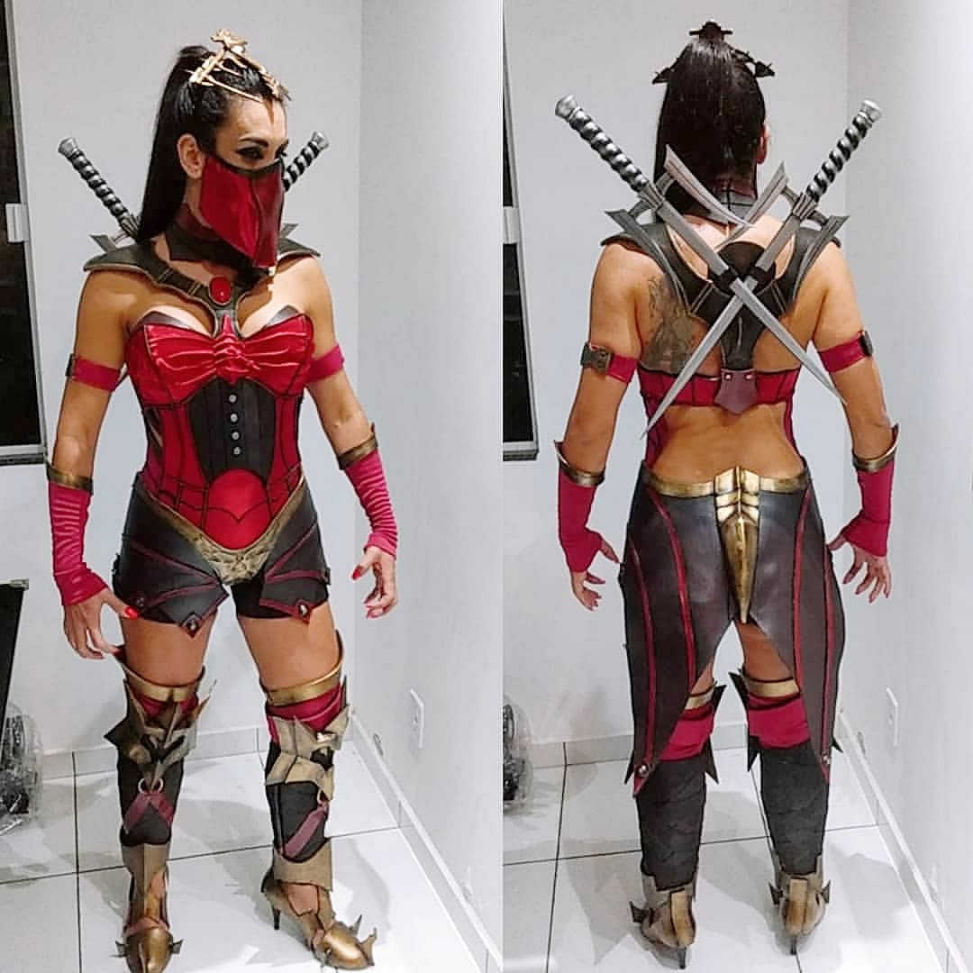 cosplay mortal kombat 3 - Mortal Kombat - Cosplayers Josi e André