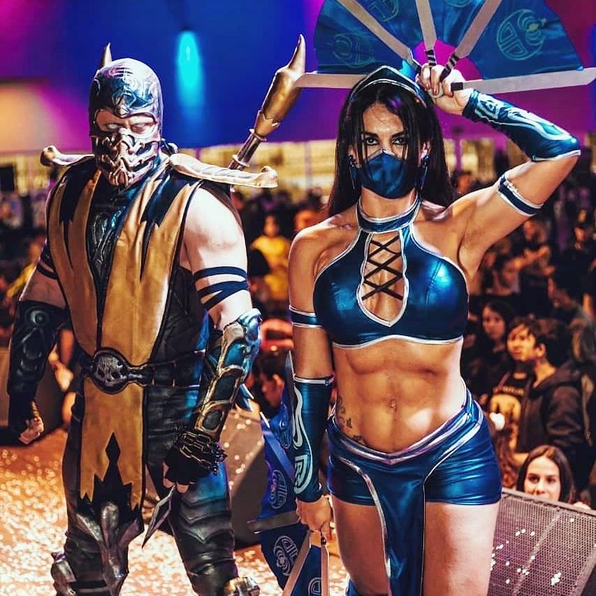 cosplay mortal kombat 5 - Mortal Kombat - Cosplayers Josi e André