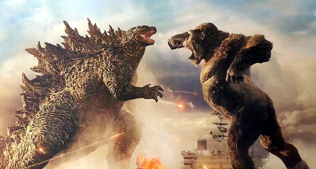 Godzilla vs Kong tem imagem oficial revelada da luta dos monstros gigantes