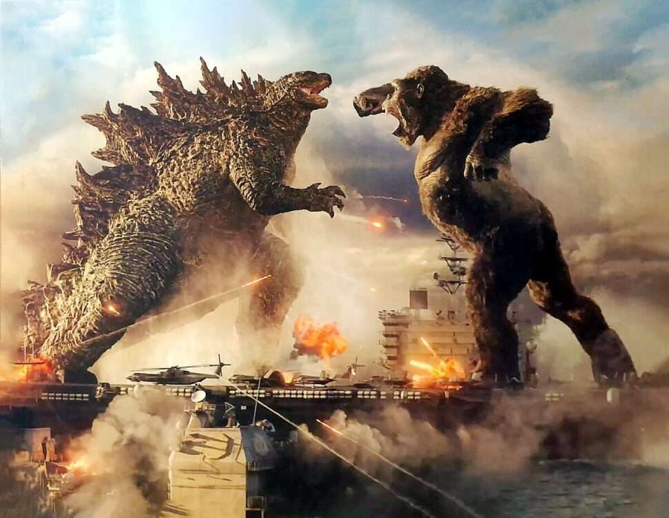 Godzilla vs Kong tem imagem oficial revelada