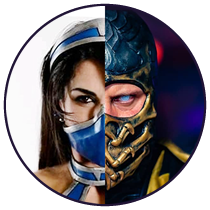 icone mk cosplay - Mortal Kombat - Cosplayers Josi e André