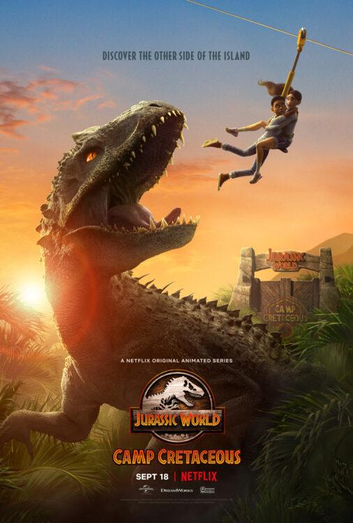 Jurassic World: Acampamento Jurássico animação na Netflix