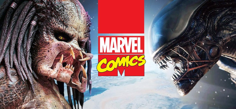 Marvel Comics adquire os direitos de Alien e Predador