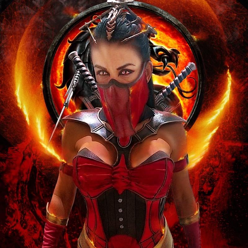 mk milena vampira2 - Mortal Kombat - Cosplayers Josi e André
