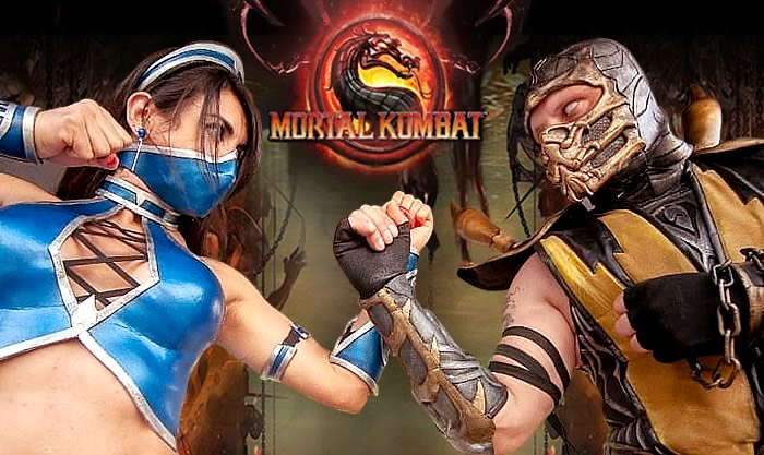 Mortal Kombat – Cosplayers Josi e André