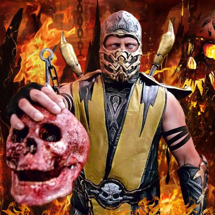 mk scorpion1 - Mortal Kombat - Cosplayers Josi e André