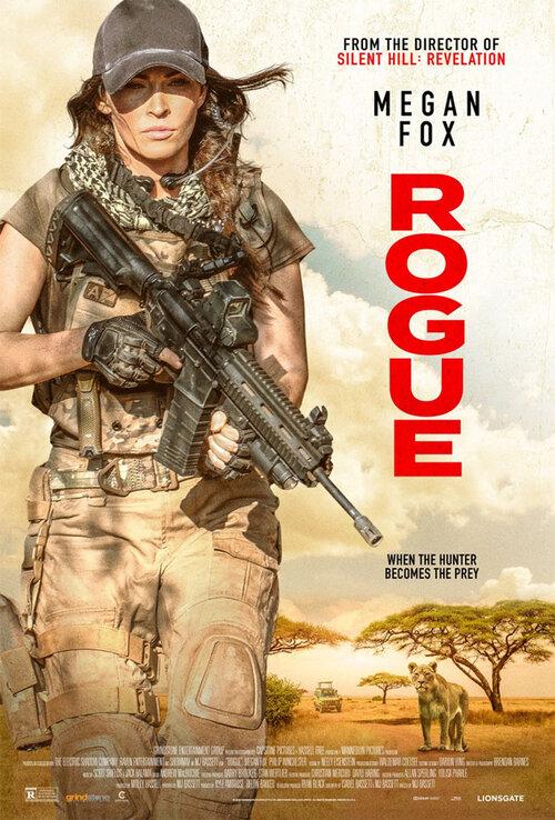ROGUE | Megan Fox enfrenta milicia africana e leão assassino em trailer