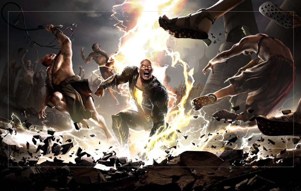 Teaser de Adão Negro narrado por Dwayne Johnson divulgado na DC Fandome