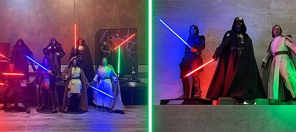 Conheça Allan Lightsaber customizador de Sabres de Luz – Hot Toys e Sideshow Collectibles