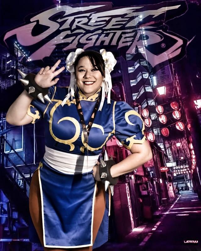 andrea tanaka chun li street fighter - Andrea Tanaka Chun Li - Cosplayer