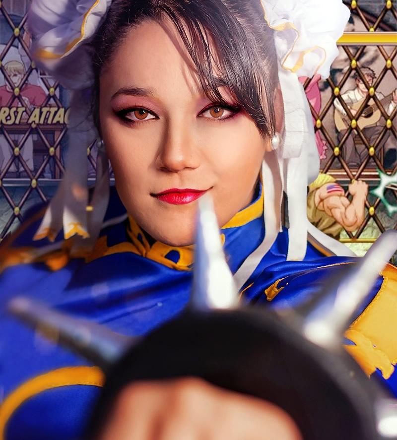 andrea tanaka cosplay chun li 2 - Andrea Tanaka Chun Li - Cosplayer