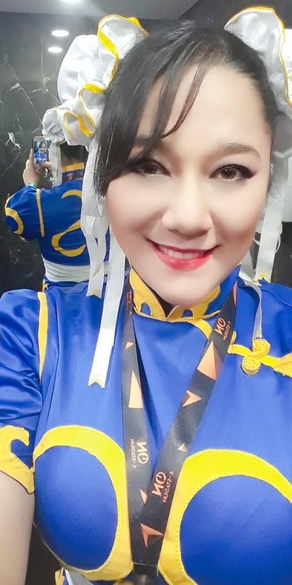 andrea tanaka cosplay chun li 5 - Andrea Tanaka Chun Li - Cosplayer