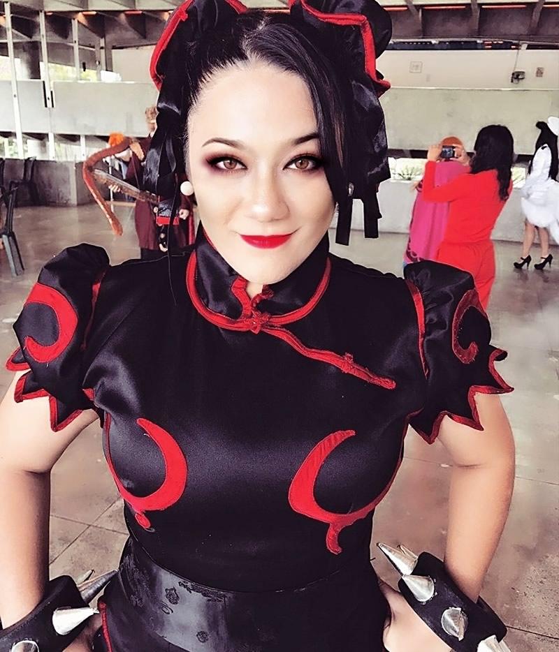 andrea tanaka cosplay chun li 7 - Andrea Tanaka Chun Li - Cosplayer