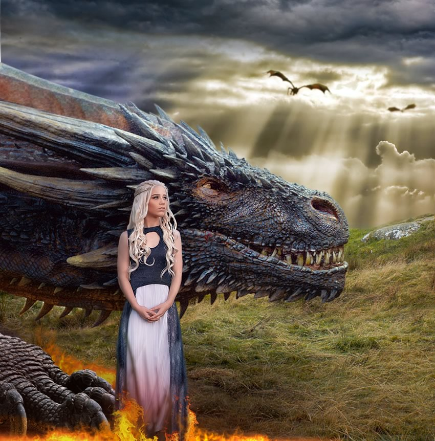 betina forbeck cosplay daenerys game of thrones - Betina Forbeck - Cosplayer