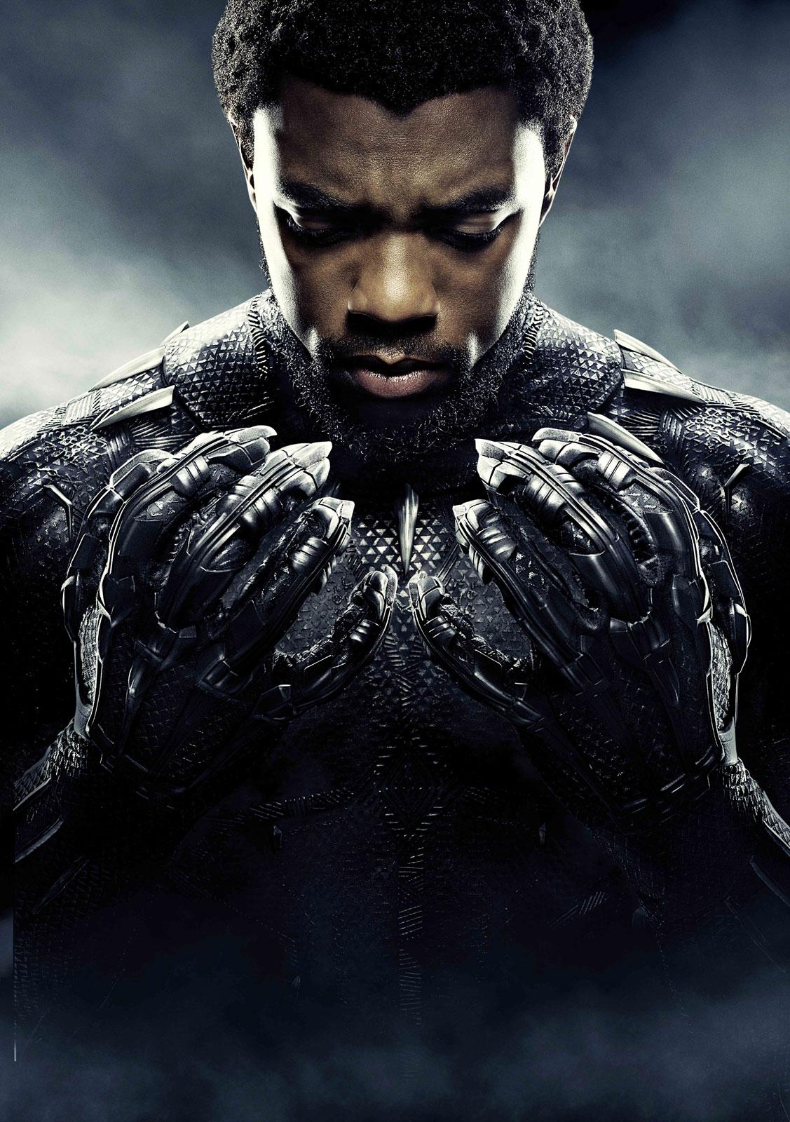 Chadwick Boseman - Tchalla Pantera Negra