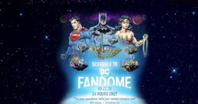 DC FanDome | Divulgado os horários dos painéis do evento online da DC Comics e Warner Bros.