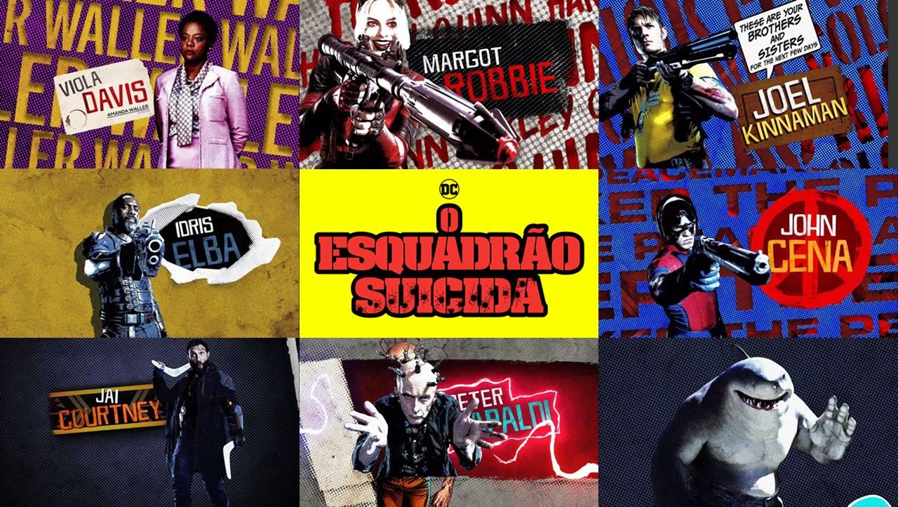 O Esquadrão Suicida | Trailer na DC FANDOME apresenta os personagens da equipe
