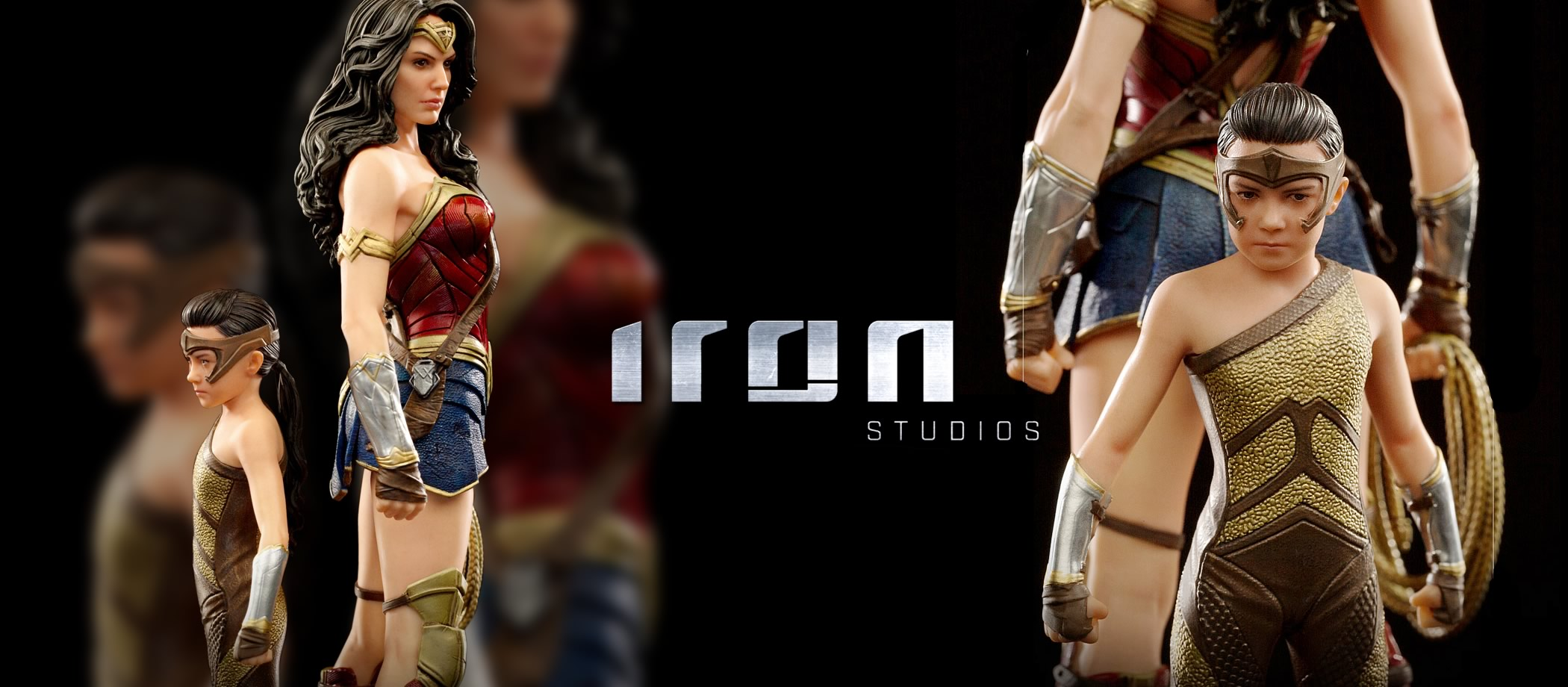 evolucao da wonder woman 84 by iron studios hero - A evolução da Wonder Woman by Iron Studios