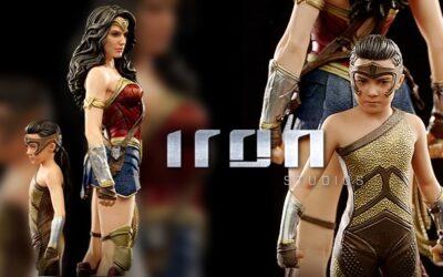 A evolução da Wonder Woman by Iron Studios