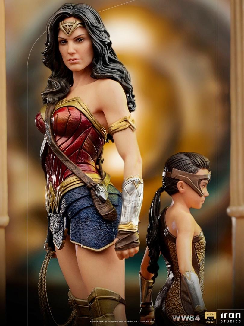 evolucao da wonder woman 84 by iron studios - A evolução da Wonder Woman by Iron Studios