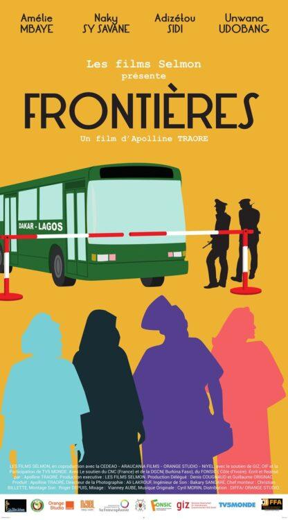 """""""Fronteiras"""" (""""Frontieres""""), de Apolline Traoré (Burkina Faso, 2017)"""