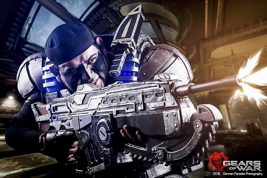 gears of war 1 - Jozzafafqian - Cosplayer
