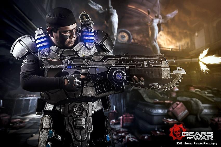 gears of war 2 - Jozzafafqian - Cosplayer