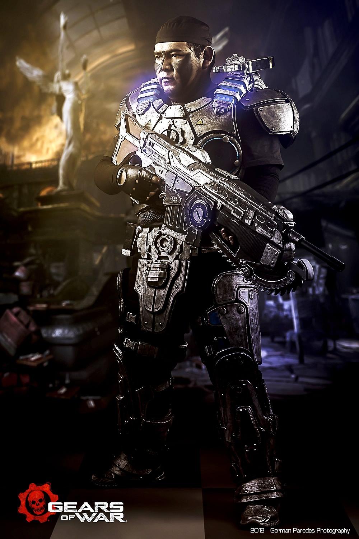 gears of war 3 - Jozzafafqian - Cosplayer