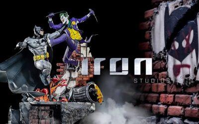 Inimigo Meu: Iron Studios lança estátua de Batman vs. Joker!