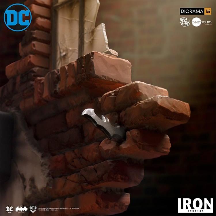 inimigo meu iron studios estatua de batman vs joker1 - Inimigo Meu: Iron Studios lança estátua de Batman vs. Joker!