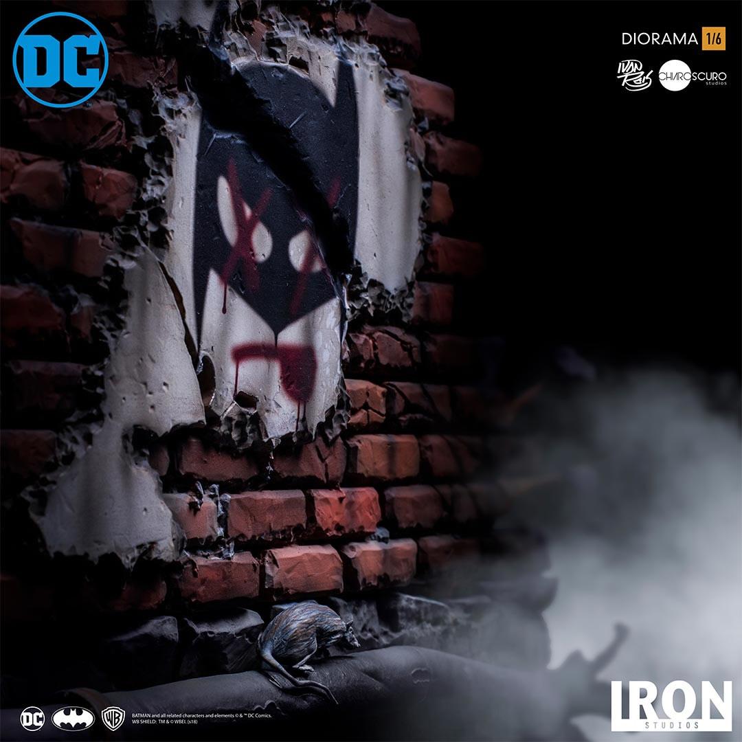 inimigo meu iron studios estatua de batman vs joker3 - Inimigo Meu: Iron Studios lança estátua de Batman vs. Joker!