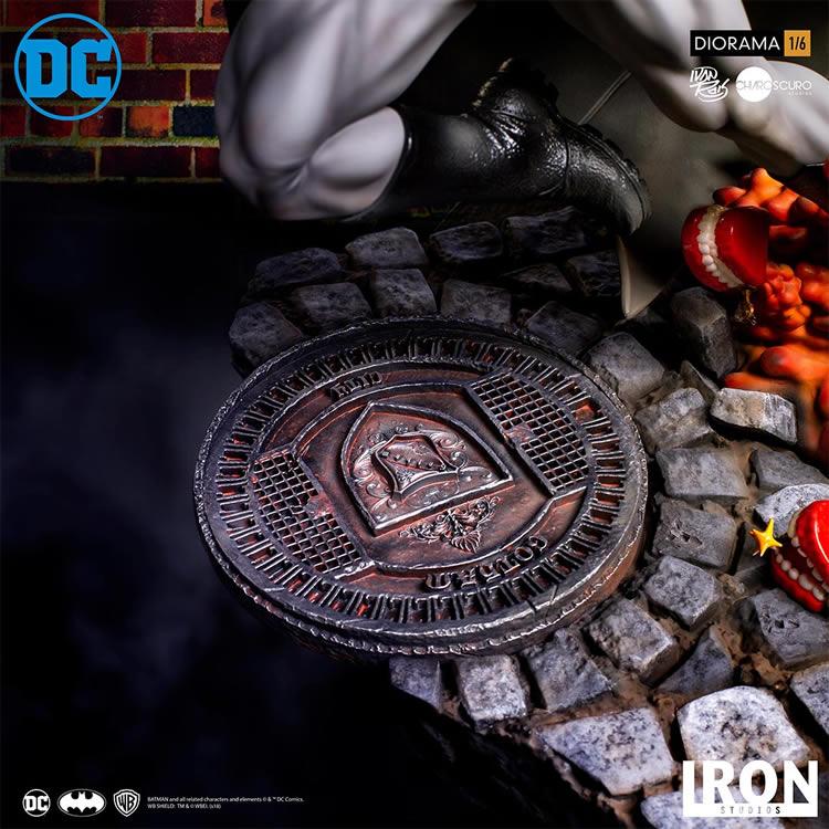 inimigo meu iron studios estatua de batman vs joker4 - Inimigo Meu: Iron Studios lança estátua de Batman vs. Joker!