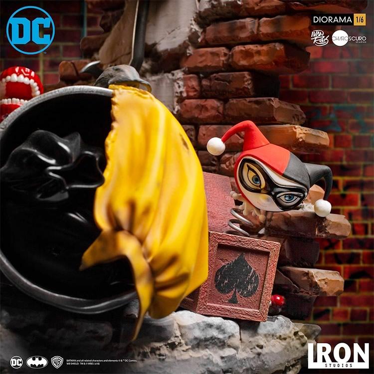 inimigo meu iron studios estatua de batman vs joker8 - Inimigo Meu: Iron Studios lança estátua de Batman vs. Joker!