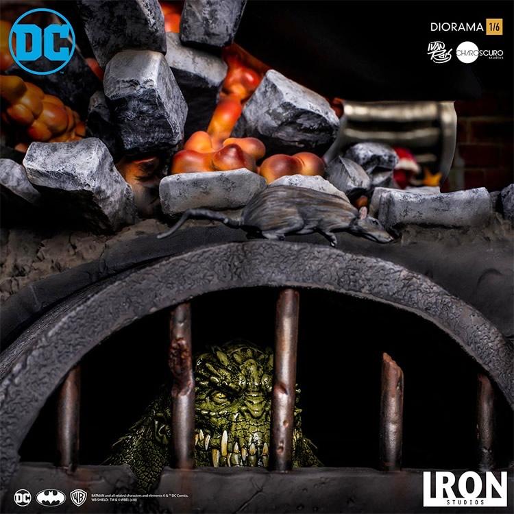 inimigo meu iron studios estatua de batman vs joker9 - Inimigo Meu: Iron Studios lança estátua de Batman vs. Joker!