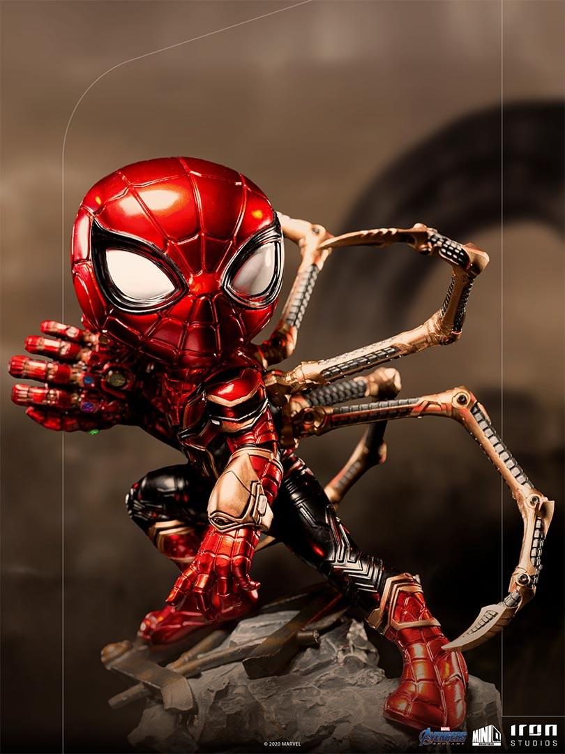 iron spider avengers endgame minico iron studios 1 - Iron-Spider de Avengers: Endgame ganha versão Minico da Iron Studios