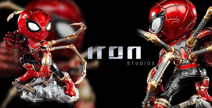 Iron-Spider de Avengers: Endgame ganha versão Minico da Iron Studios