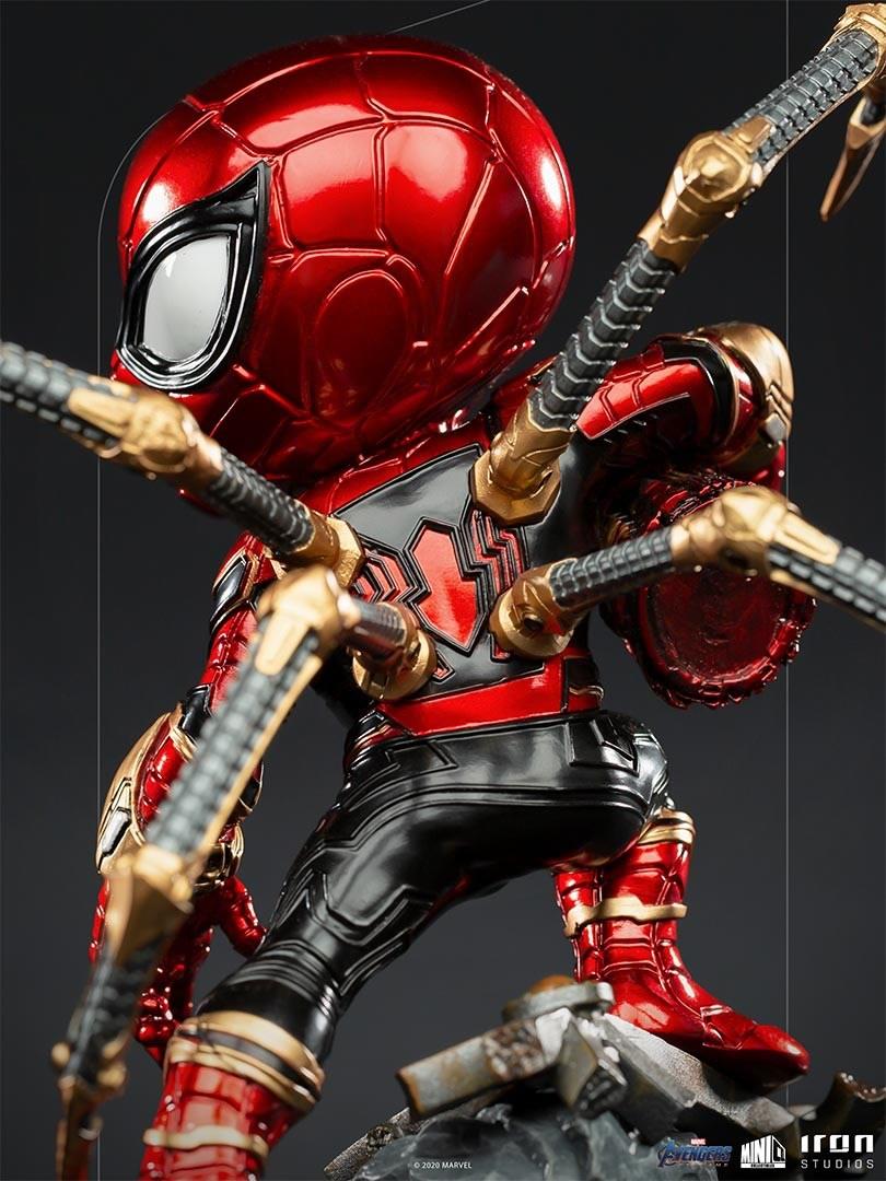iron spider avengers endgame minico iron studios verso - Iron-Spider de Avengers: Endgame ganha versão Minico da Iron Studios