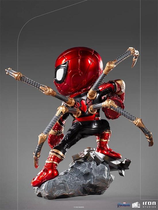 iron spider avengers endgame minico iron studios vista verso - Iron-Spider de Avengers: Endgame ganha versão Minico da Iron Studios