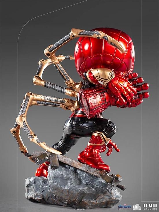iron spider avengers endgame minico iron studios vista verso2 - Iron-Spider de Avengers: Endgame ganha versão Minico da Iron Studios