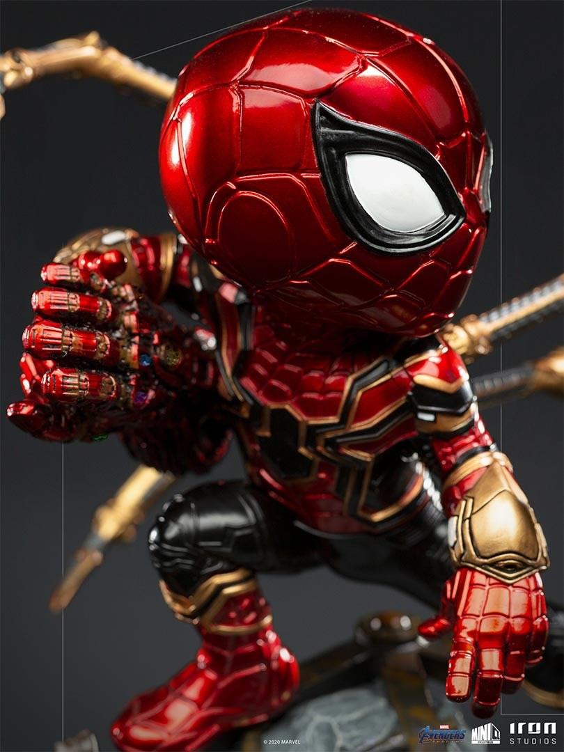 iron spider avengers endgame minico iron studios vista verso3 - Iron-Spider de Avengers: Endgame ganha versão Minico da Iron Studios