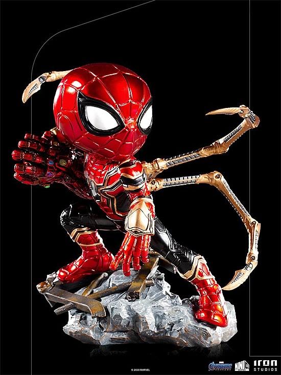 iron spider avengers endgame minico iron studios - Iron-Spider de Avengers: Endgame ganha versão Minico da Iron Studios