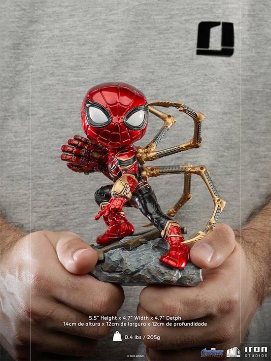 iron spider avengers endgame versao minico iron studios especificacoes - Iron-Spider de Avengers: Endgame ganha versão Minico da Iron Studios
