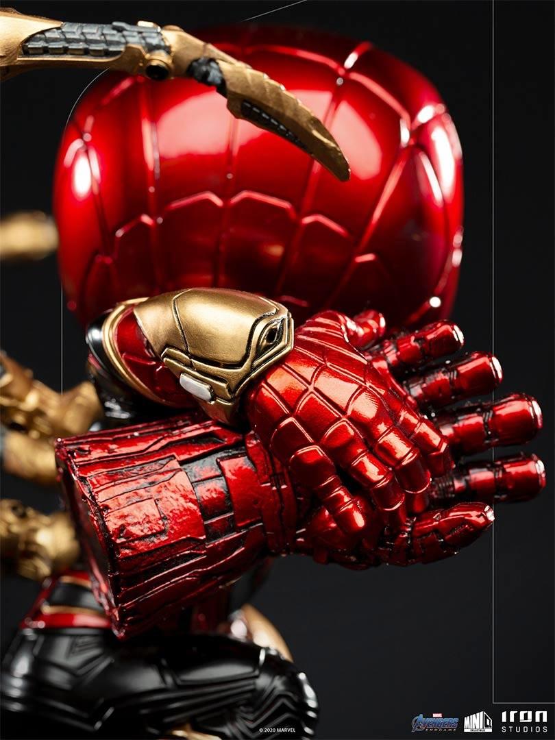 iron spider avengers endgame versao minico iron studios manola joias do infinito - Iron-Spider de Avengers: Endgame ganha versão Minico da Iron Studios