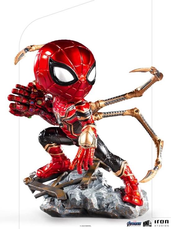 iron spider avengers endgame versao minico iron studios - Iron-Spider de Avengers: Endgame ganha versão Minico da Iron Studios