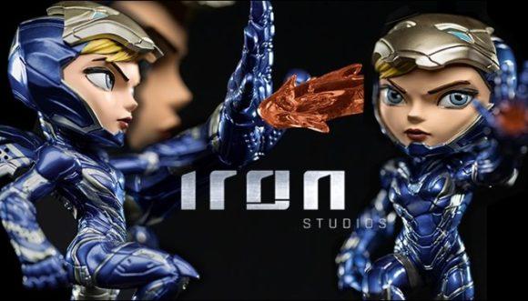 Pepper Potts a Dama de Ferro na versão Minico pela Iron Studios!