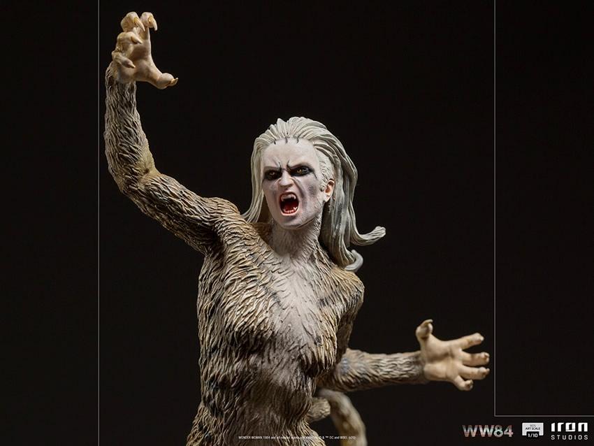 iron studios revela mulher leopardo de mulher maravilha 1984 em colecionavel 1 - Iron Studios revela visual da Mulher-Leopardo de Mulher-Maravilha 1984 em colecionável