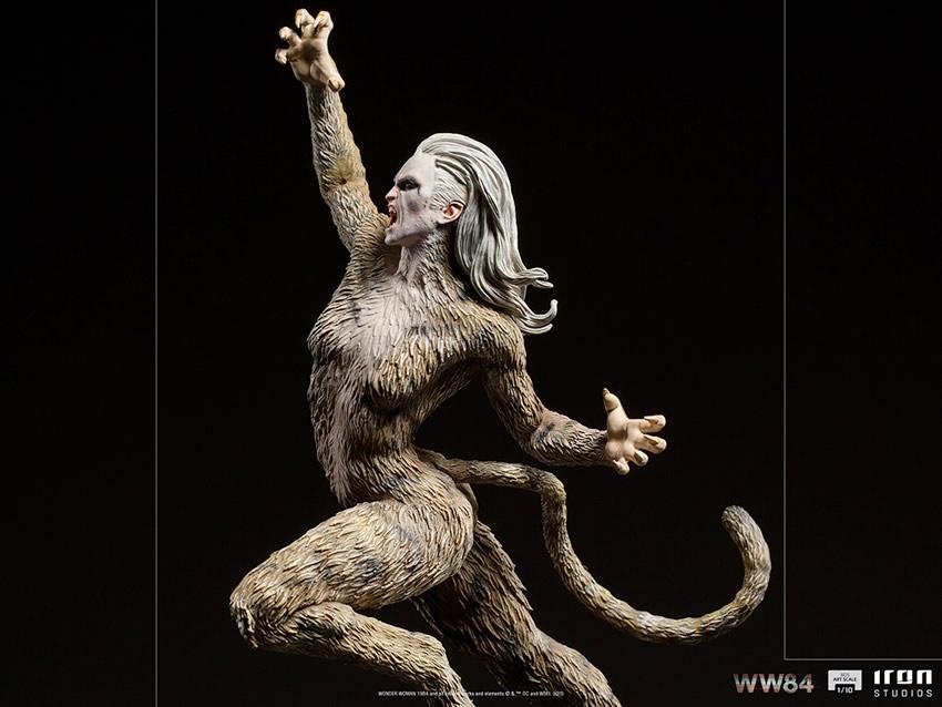 iron studios revela mulher leopardo de mulher maravilha 1984 em colecionavel 3 - Iron Studios revela visual da Mulher-Leopardo de Mulher-Maravilha 1984 em colecionável