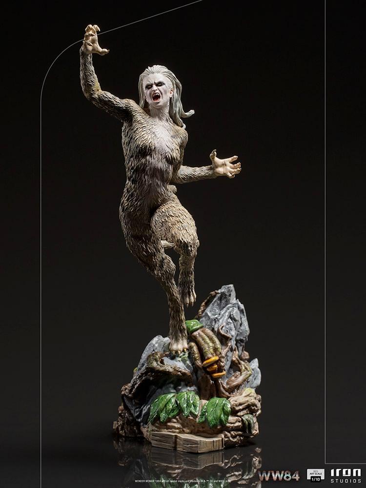iron studios revela visual de mulher leopardo de mulher maravilha 1984 em colecionavel 1 - Iron Studios revela visual da Mulher-Leopardo de Mulher-Maravilha 1984 em colecionável