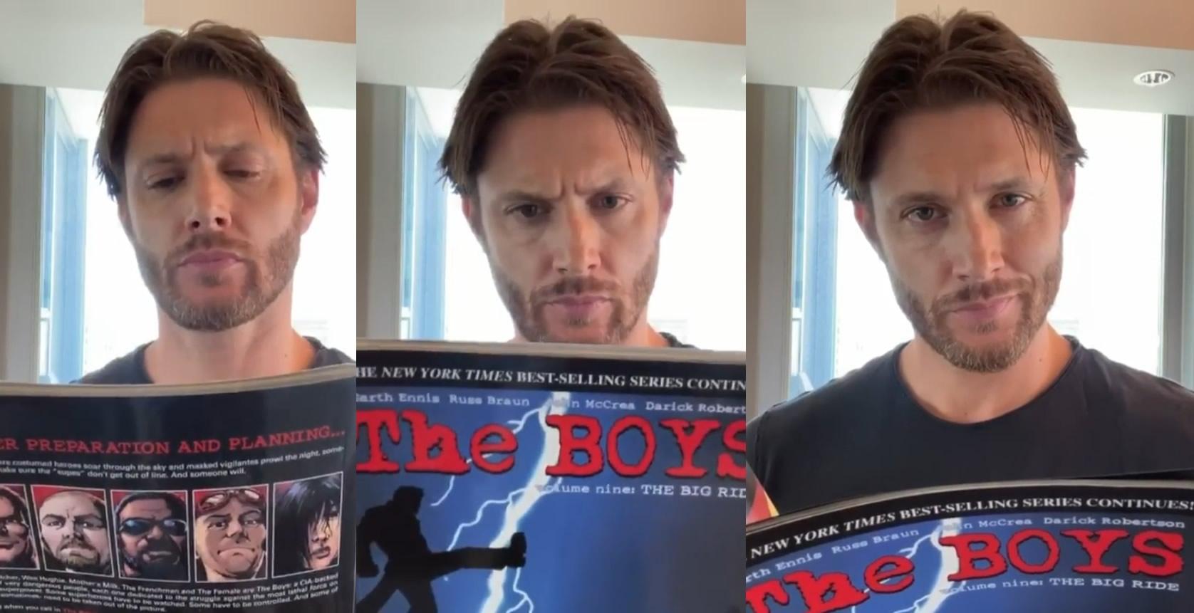 Jensen Ackles de Supernatural contratado para 3ª temporada de The Boys